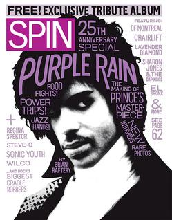 Spin Magazine - Purple Rain Anniversary Issue