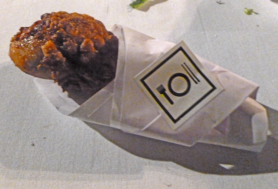 Origami Wrapped Fried Chicken - Questlove Catering