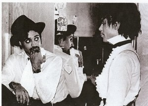 Prince and Morris Day