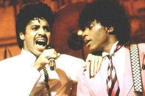 Morris Day and Jesse Johnson
