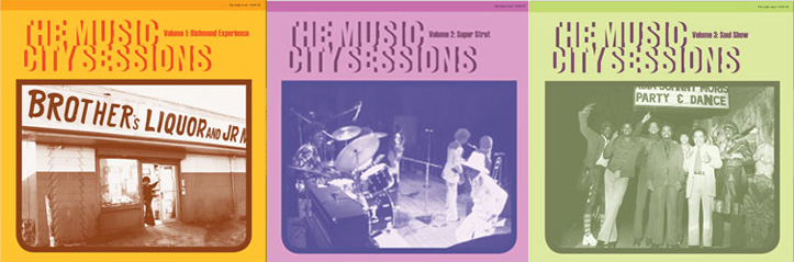 The Music City Sessions - Volume 1-3