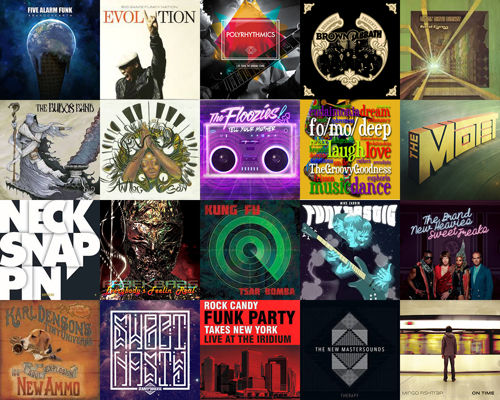 20 best funk albums of 2014