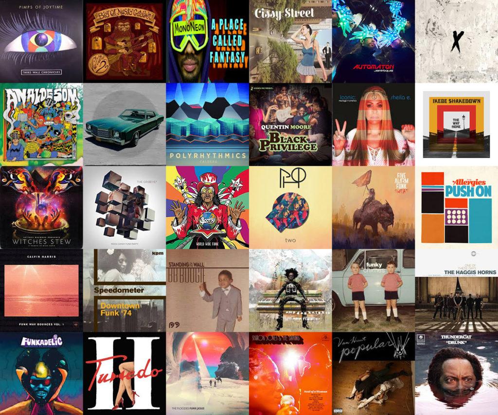 Best Funk Albums of 2017