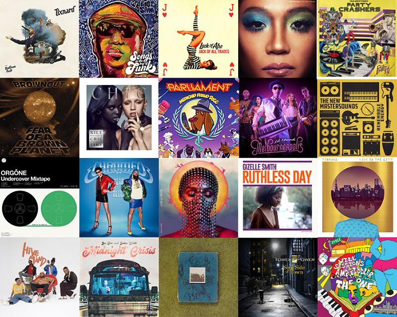 20 best Funk Albums of 2018 | Funkatopia